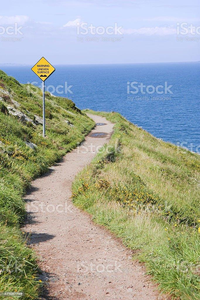 winding path royalty-free stock photo