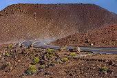 Winding Road atHaleakala National Park Maui Hawaii USA