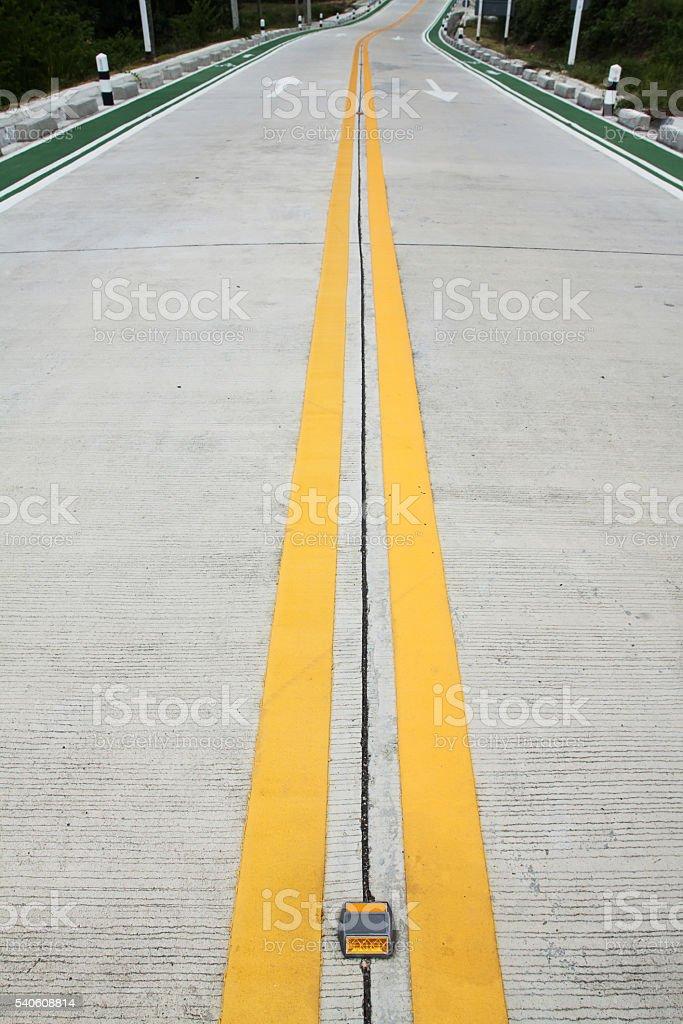 winding road stock photo