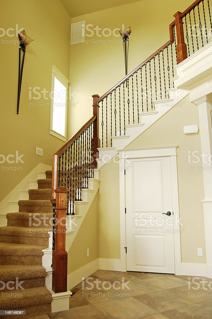 Winding Staircase stock photo