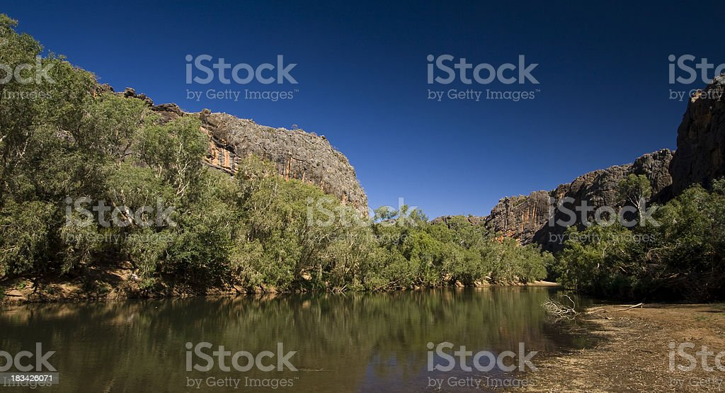 Windjana Gorge stock photo