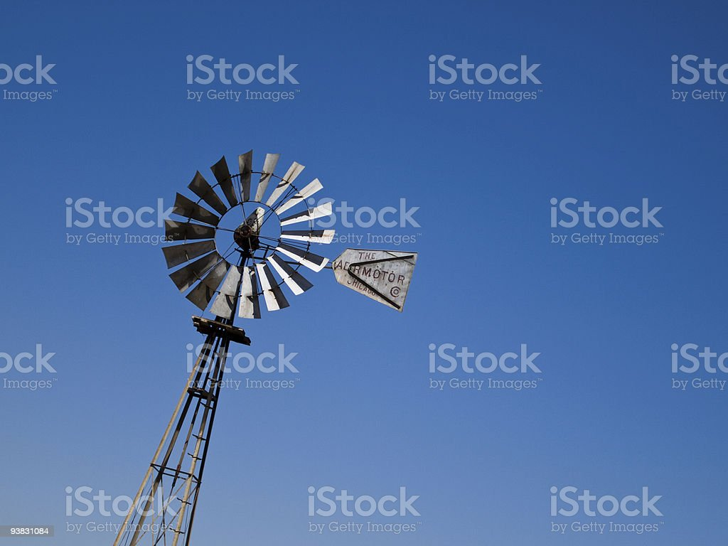 Windm?hle in Californien stock photo