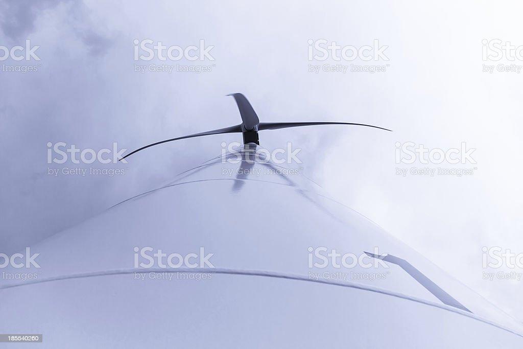 Windmill - Aerogenerador stock photo