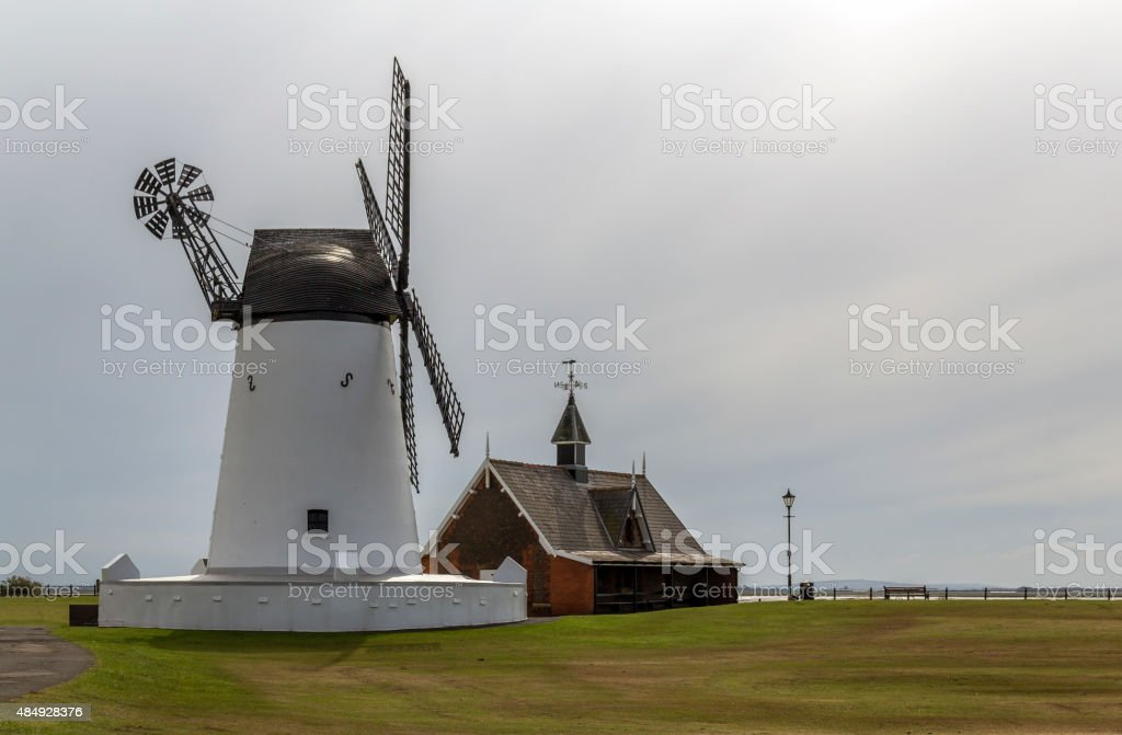Windmill At Lytham St Annes stock photo