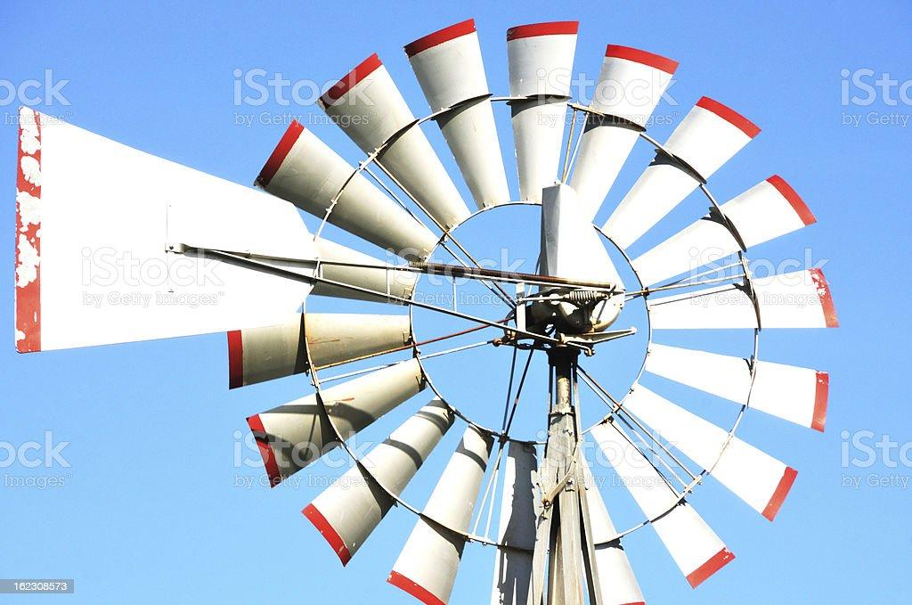 Windmill Close-up royalty-free stock photo