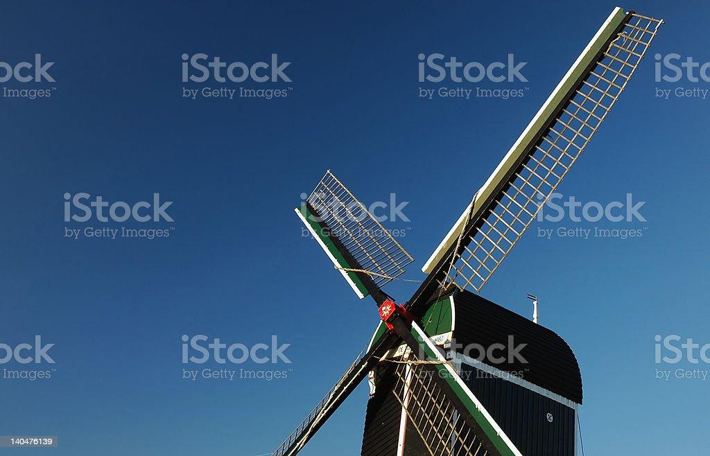 windmill detail stock photo