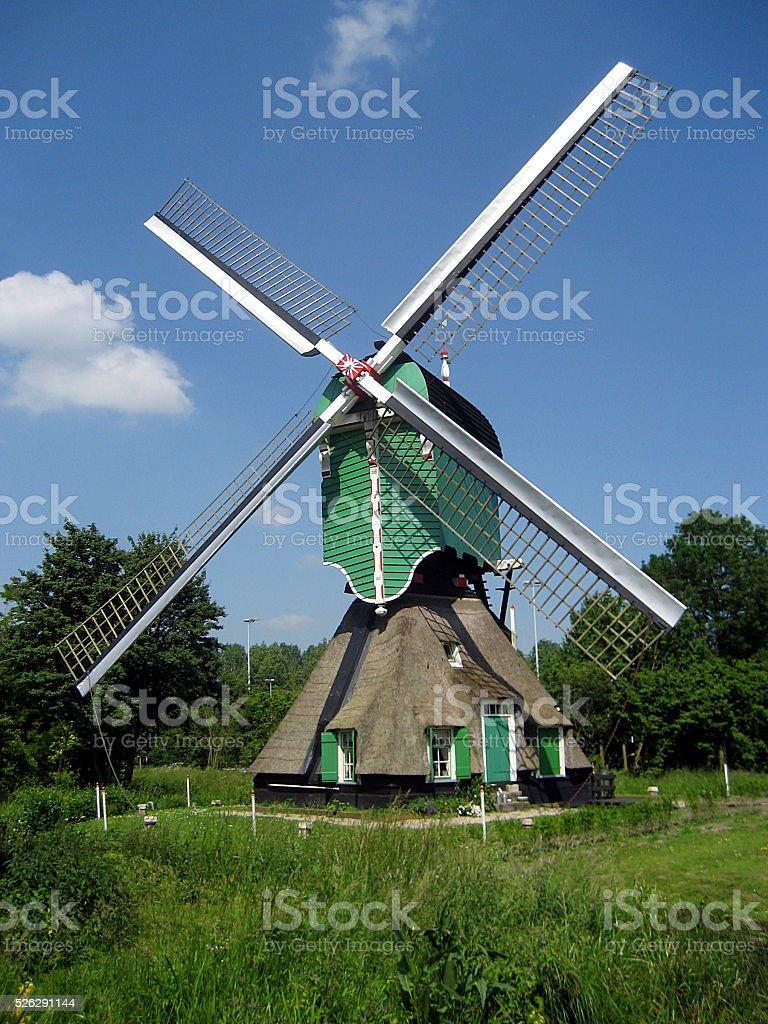 Windmill, Gorinchem, Netherlands stock photo