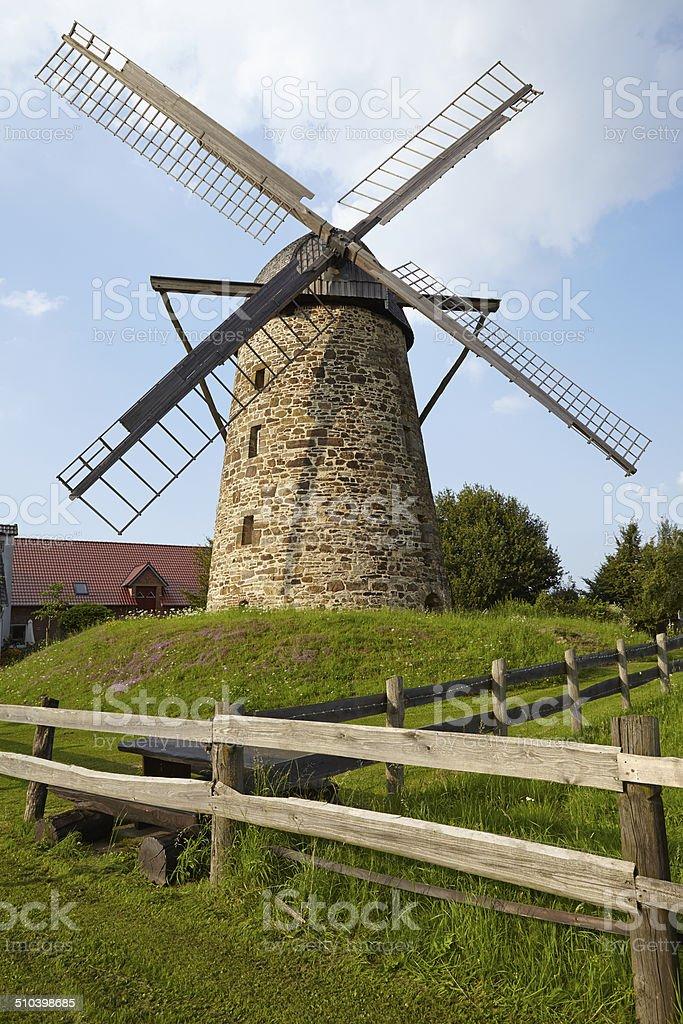 Windmill Grossenheide (Minden-Todtenhausen) stock photo
