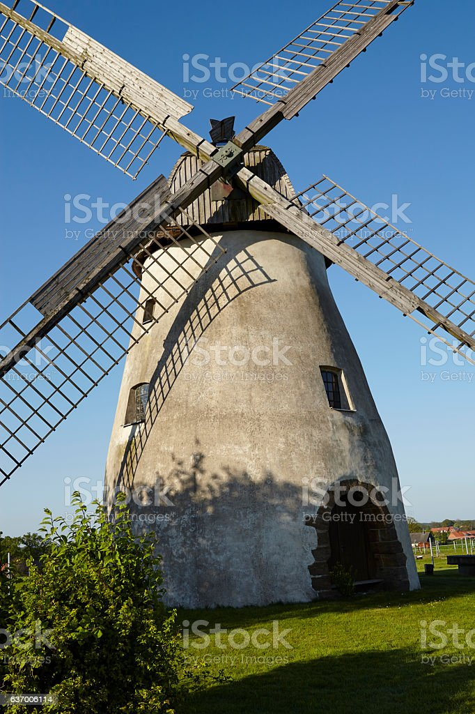 Windmill Hille (Germany) stock photo