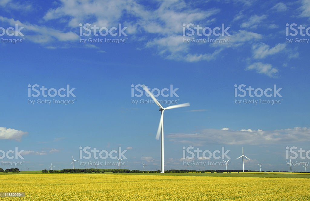 Windmill in Motion royalty-free stock photo