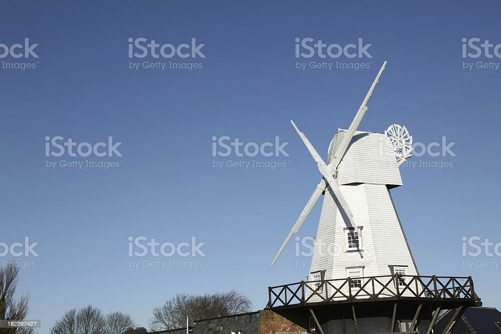 Windmill in Rye, East Sussex, England, UK royalty-free stock photo