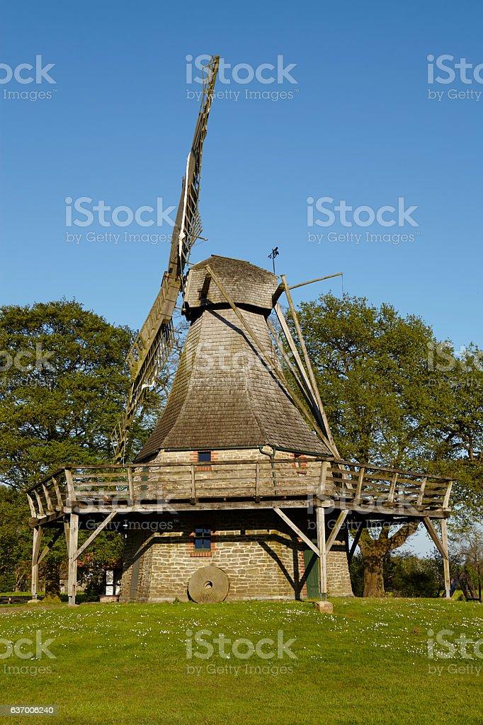 Windmill Levern (Stemwede, Germany) stock photo