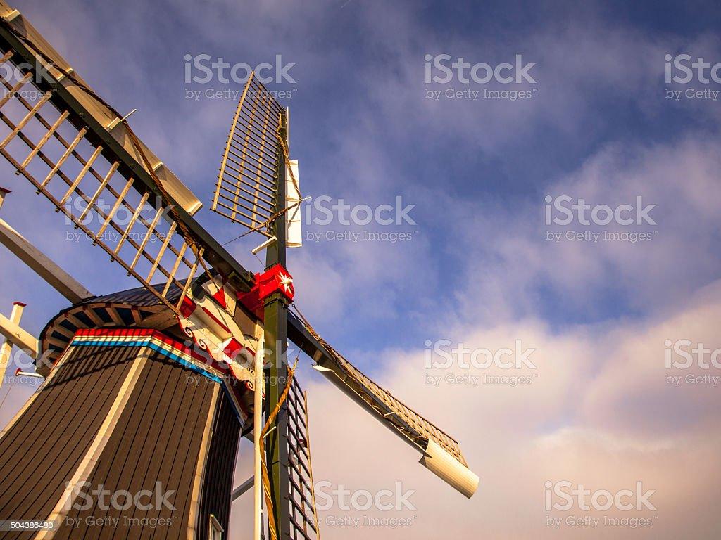 WindMill Netherlands stock photo
