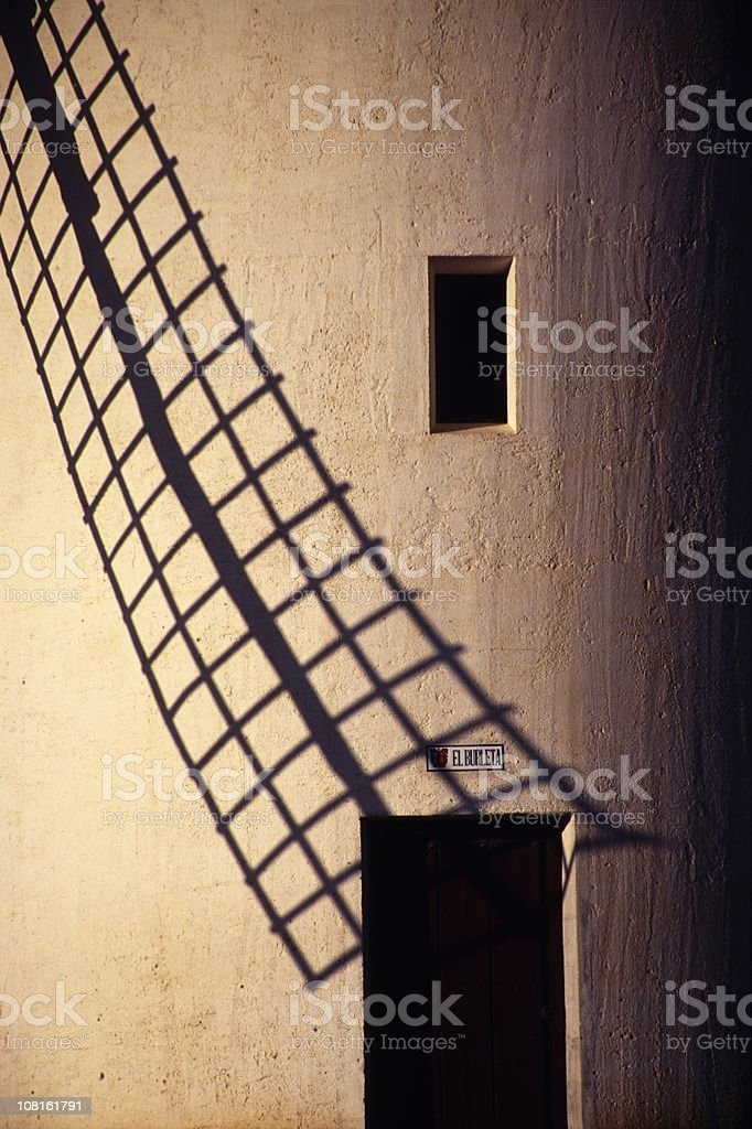 windmill of la mancha (XXL) stock photo