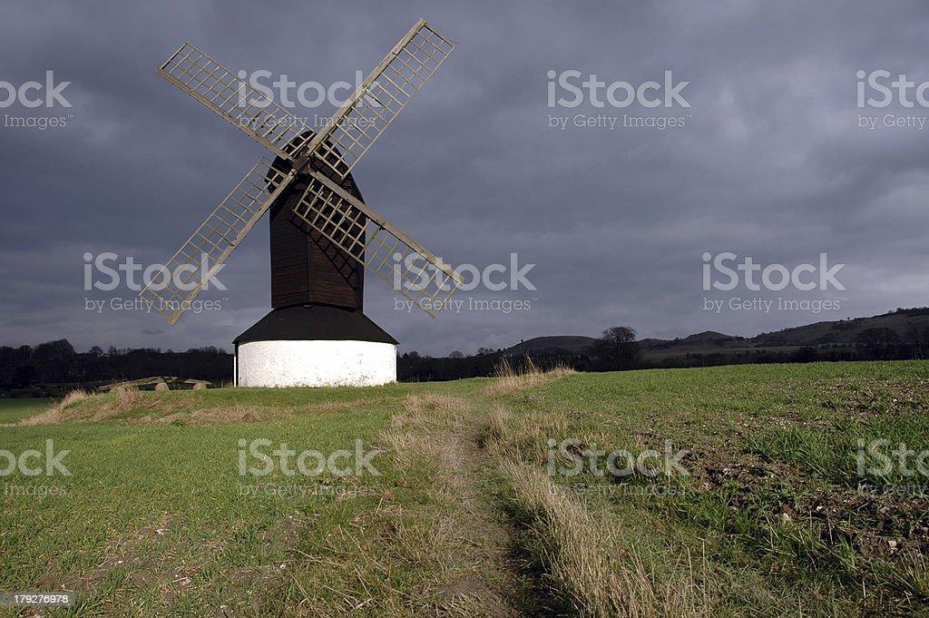 Windmill (1) stock photo
