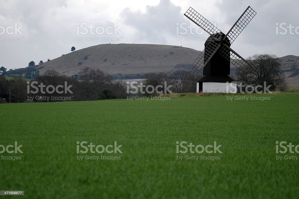 Windmill (7) stock photo