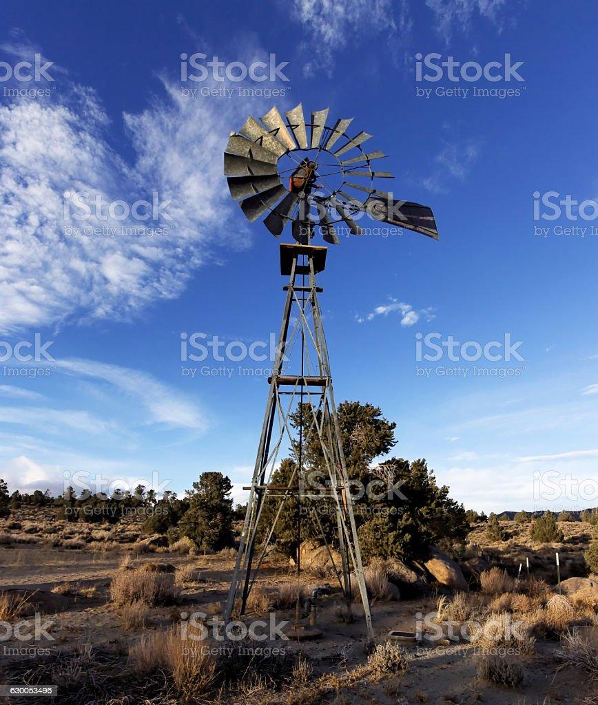 Windmill Pump. stock photo