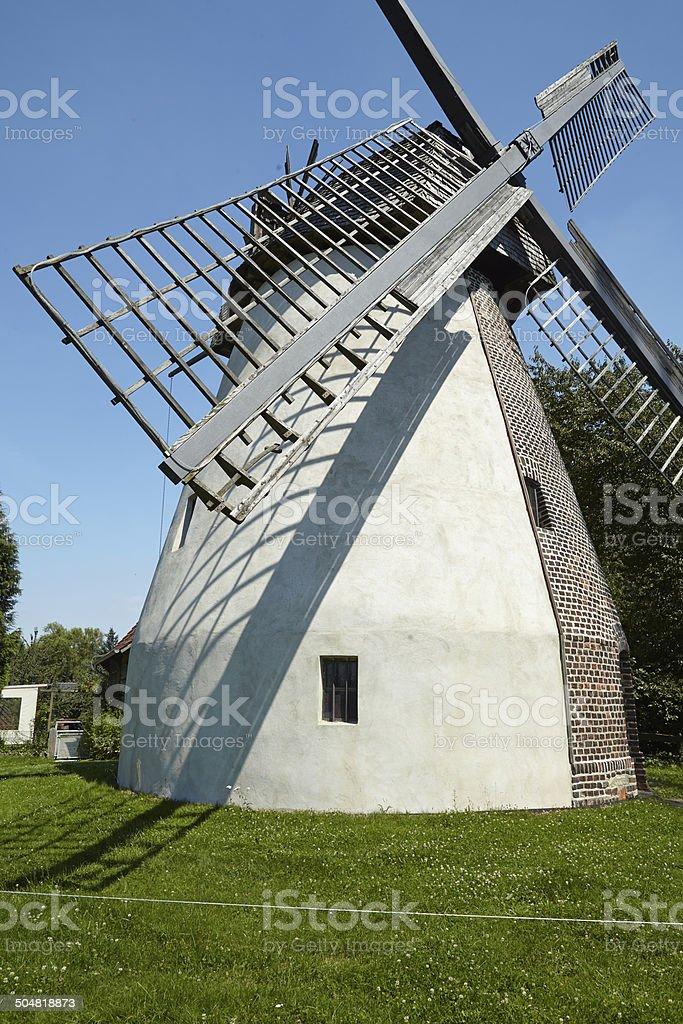 Windmill Todtenhausen (Minden, Germany) stock photo