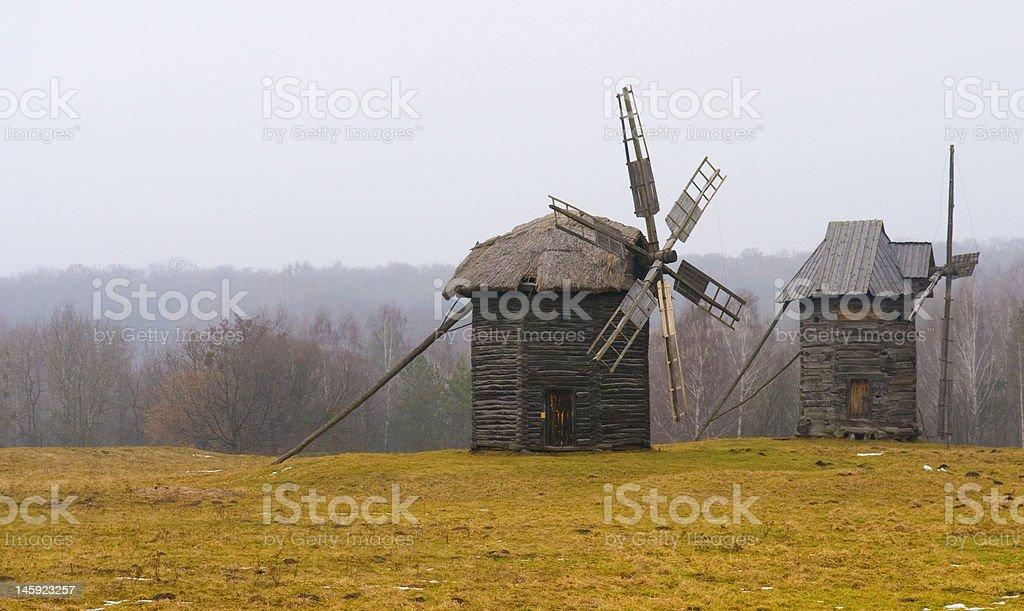 の風車 ロイヤリティフリーストックフォト