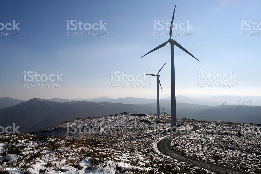 Molinos de viento stock photo