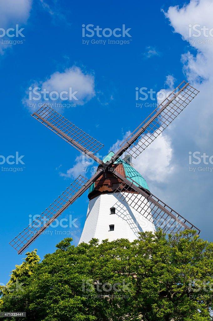 Windmuehle Amanda in Kappeln Schlei stock photo