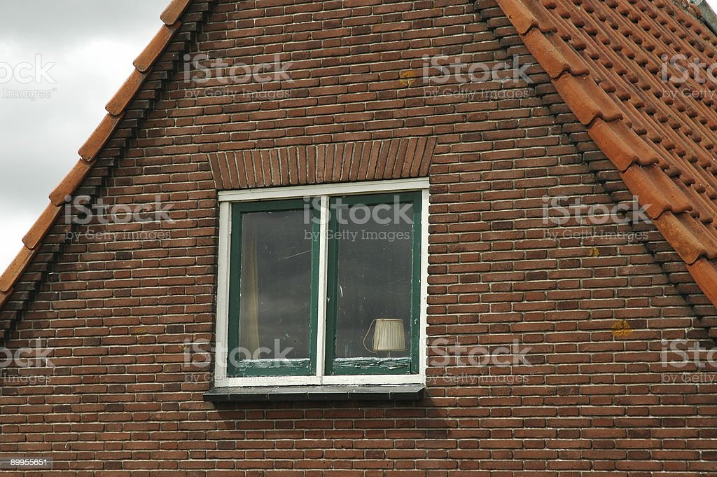 Window and pattern royalty-free stock photo