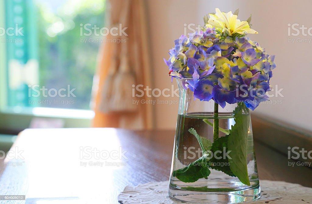 window and room with the flower foto de stock libre de derechos