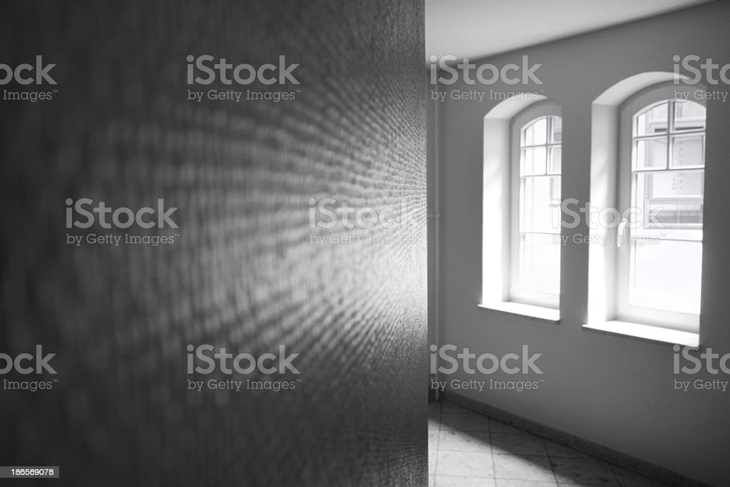 window and wall royalty-free stock photo