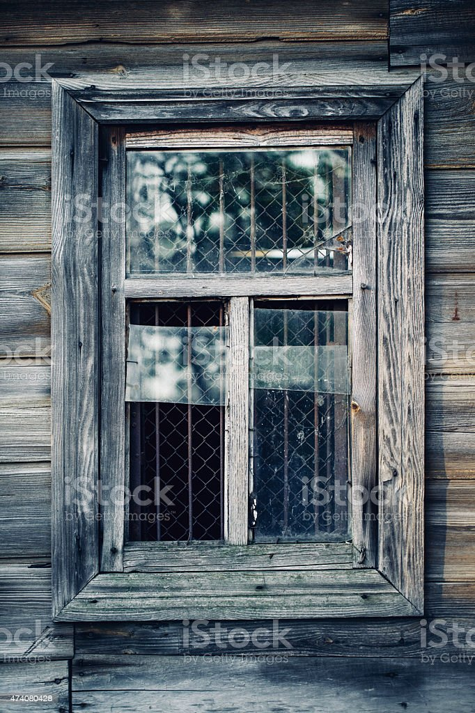 window and wall textured  wallpaper background stock photo
