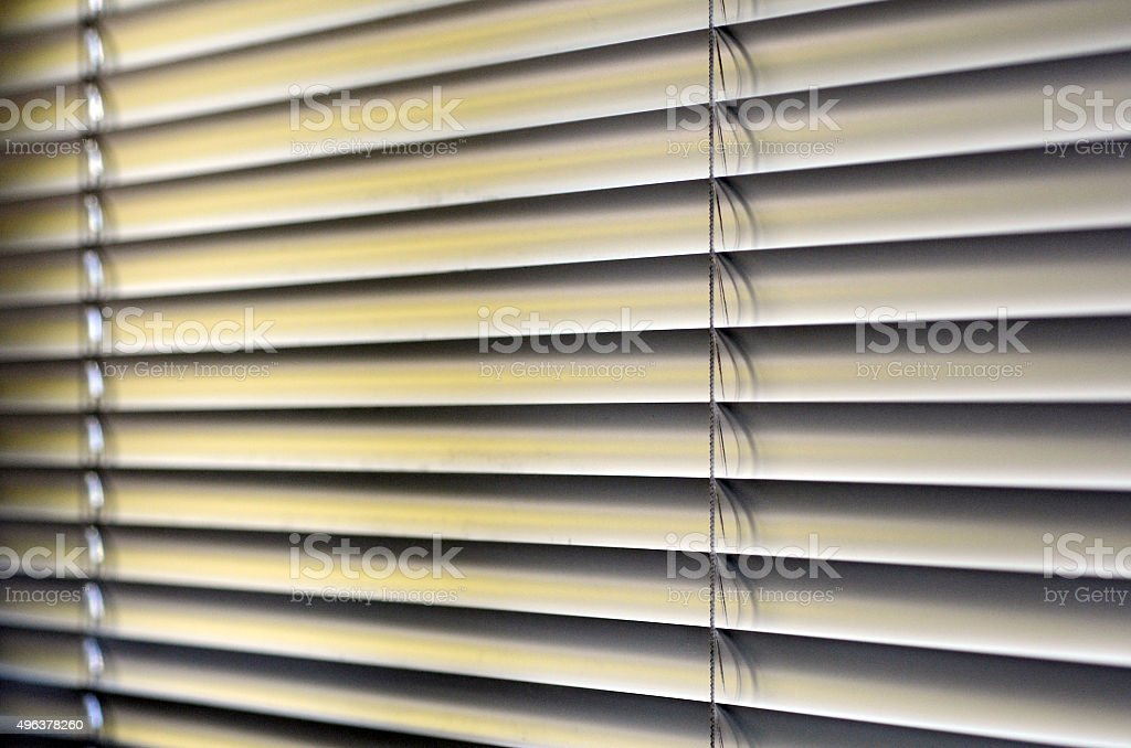 Window Blinds stock photo