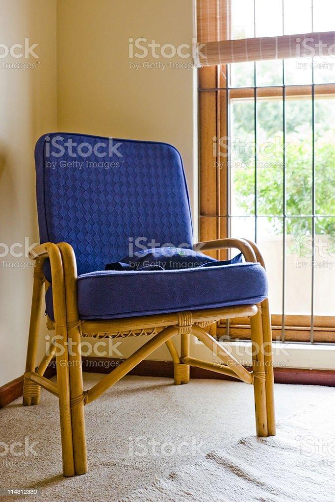 Window chair royalty-free stock photo