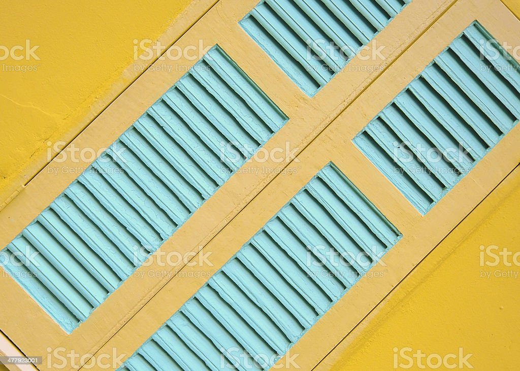 Window Colorful royalty-free stock photo