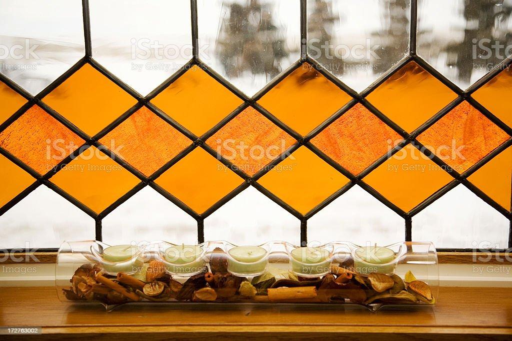 window decor royalty-free stock photo
