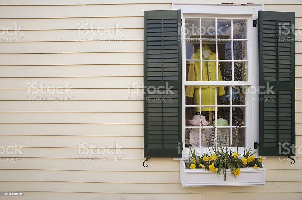 Window display royalty-free stock photo