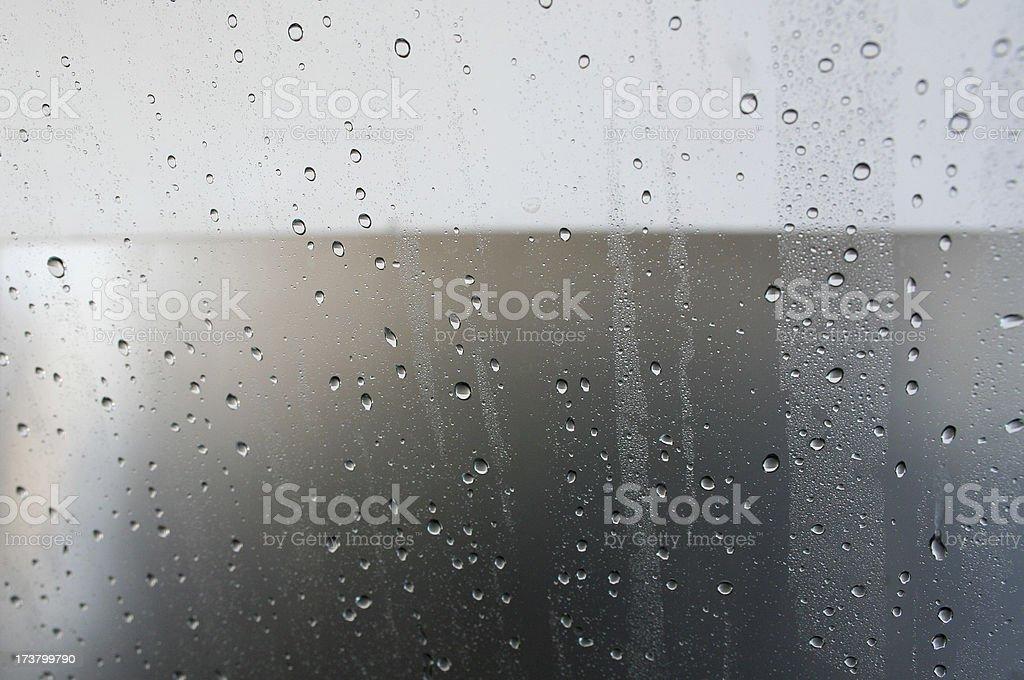 Window Fog stock photo
