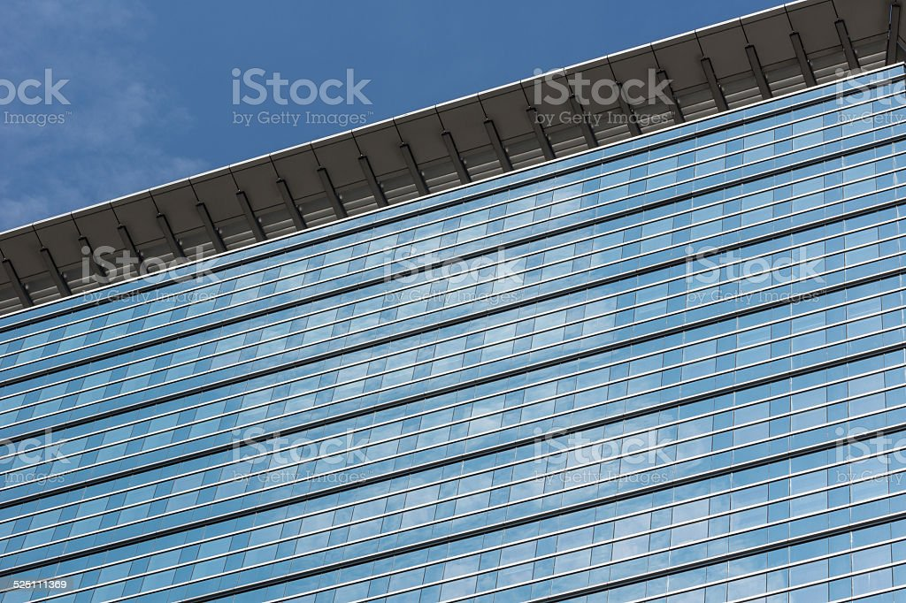 Fensterfront stock photo