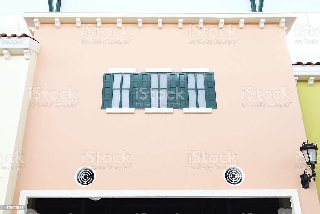 Window green house royalty-free stock photo