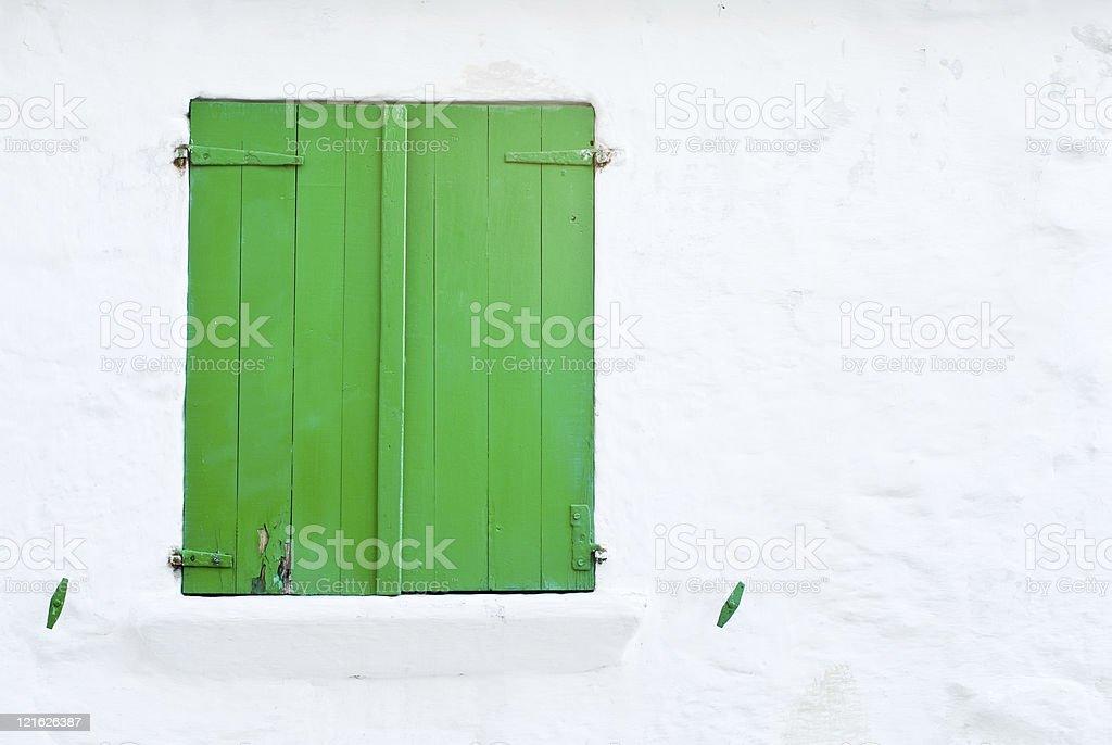 window green stock photo