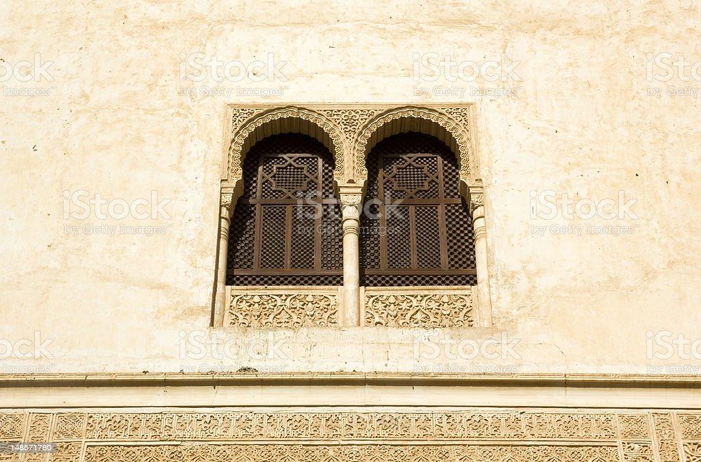 Window in Alhambra stock photo