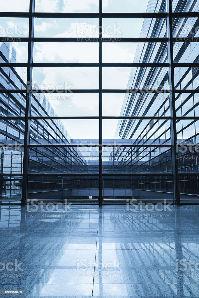 window in morden building royalty-free stock photo
