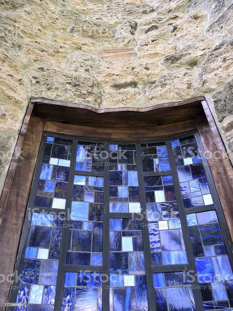 Window in the Wall royalty-free stock photo