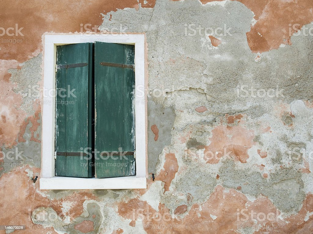 Window in Venice royalty-free stock photo