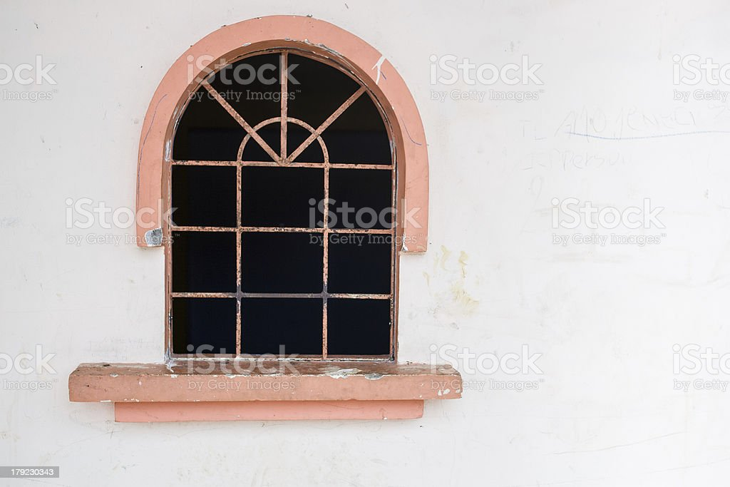 Window in White wall royalty-free stock photo
