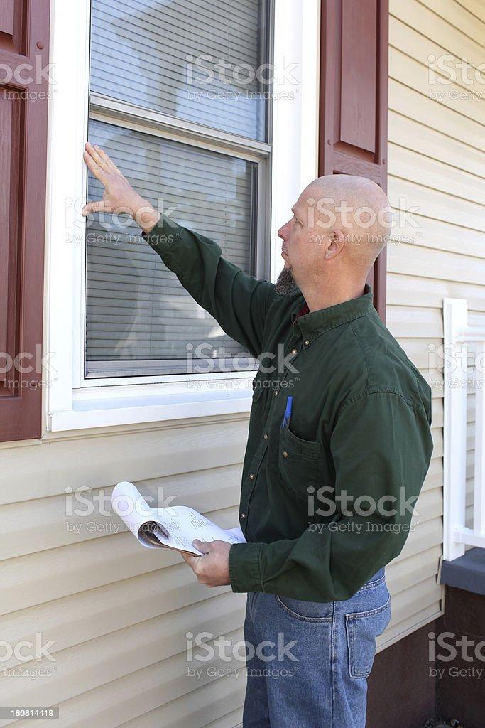 Window Inspection stock photo