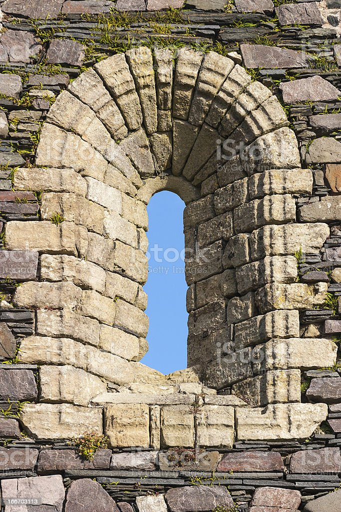 Window niche royalty-free stock photo