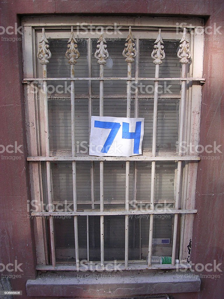Window no. 74 stock photo