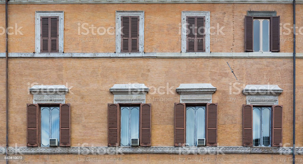 Window of an old building stock photo