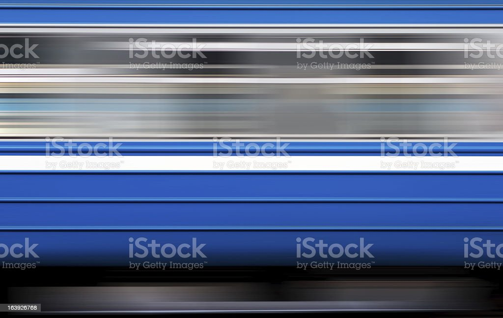 window of electric train in motion royalty-free stock photo