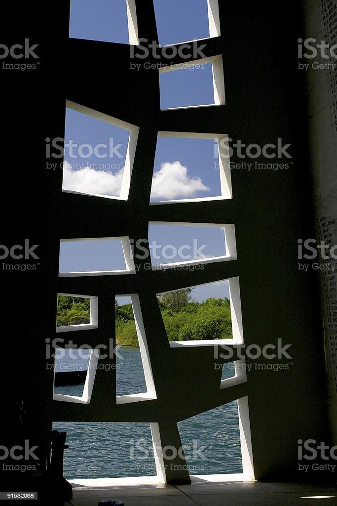 Window of memory. royalty-free stock photo