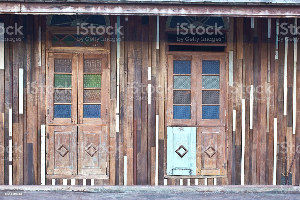 window of old house royalty-free stock photo